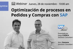 Optimización de procesos en Pedidos y Compras con SAP