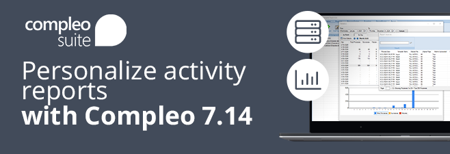 Personalize activity reports with Compleo Suite Version 7.14