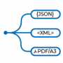 Json-xml-pdf_connect