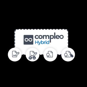 Verwalten Sie jede Art elektronischer Unterschrift mit Compleo Hybrid
