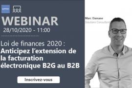 Loi de finances 2020 : anticipez l'extension de la facturation électronique B2G au B2B