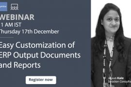 Easy customization of ERP output documents