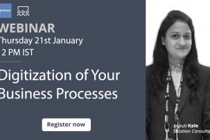 Digitization of business processes